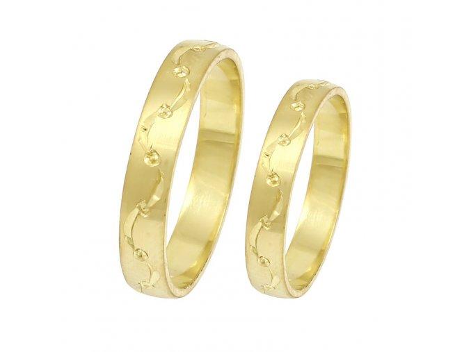 Zlaté svadobné obrúčky 2014017