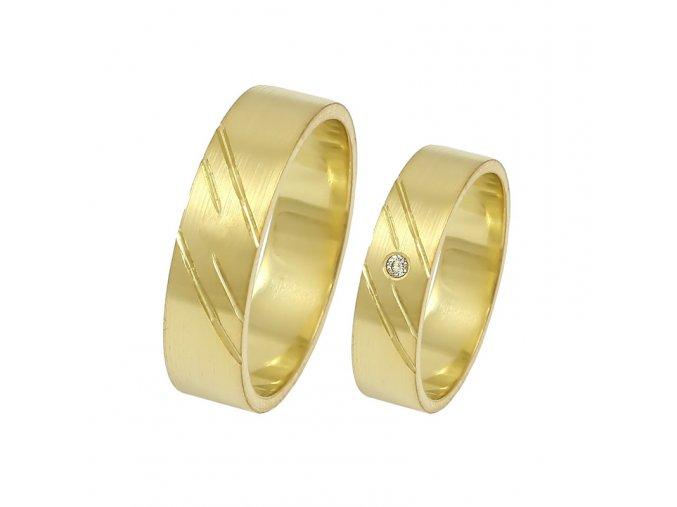 Zlaté svadobné obrúčky 2014038