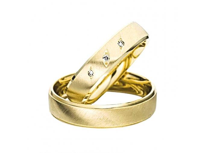 Zlaté svadobné obrúčky 2014032/Z