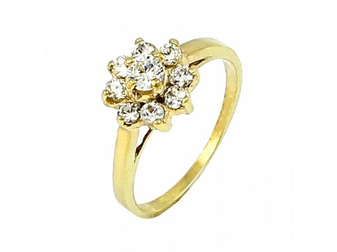 Zlatý prsteň 22115/Z/X