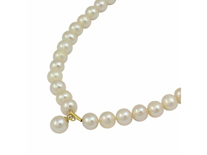Zlatá perlová retiazka 2676/Z/Pl