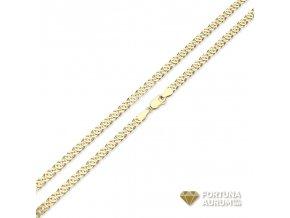 Zlatá retiazka 2633-75/Z