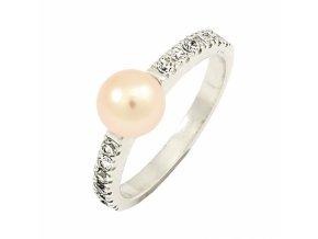 Zlatý perlový prsteň 22108/B/PlX