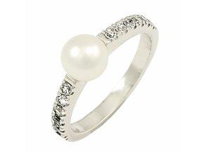 Zlatý perlový prsteň 22108/B/PxX