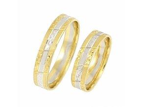 Zlaté svadobné obrúčky 2015092/ZB