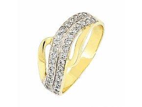Zlatý prsteň 15291/ZB/X