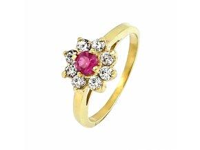 Zlatý prsteň 22115/Z/CX