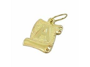 Zlatý prívesok 2415-A/Z