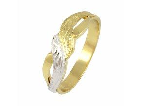 Zlatý prsteň 22127/ZB
