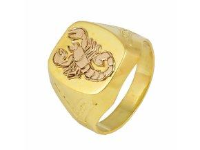 Zlatý prsteň 22132/Z