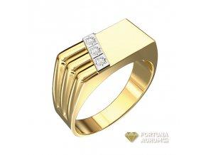 Zlatý prsteň 22133/ZB/X
