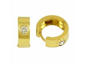 Zlaté briliantové náušnice 23169B/Z/X