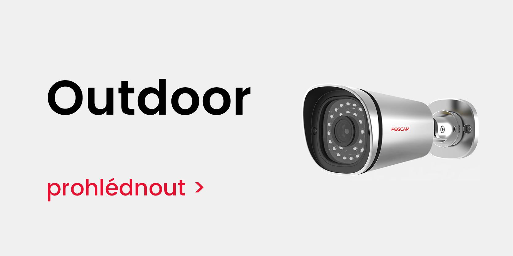 Outdoor IP kamery