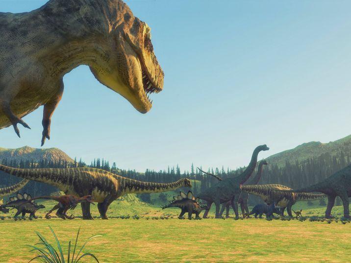 Obrázky dinosaurů
