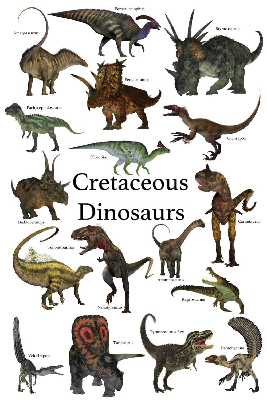 cretaceous-dinosaurus