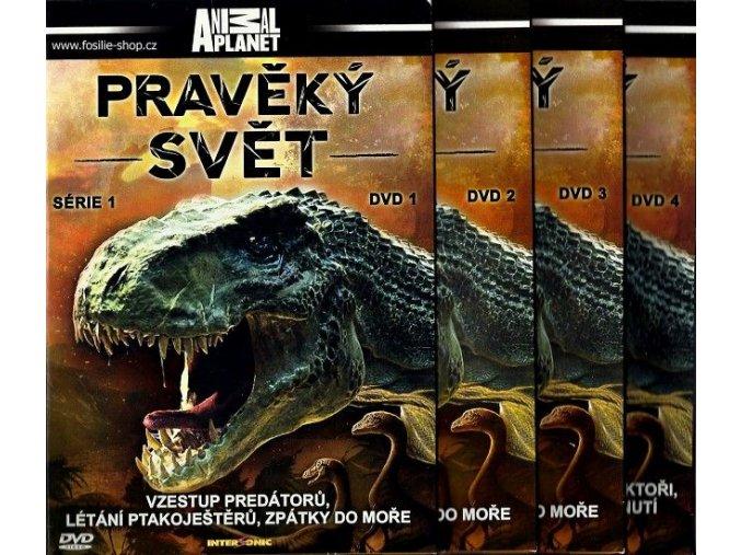 Pravěký svět - kolekce 4 DVD