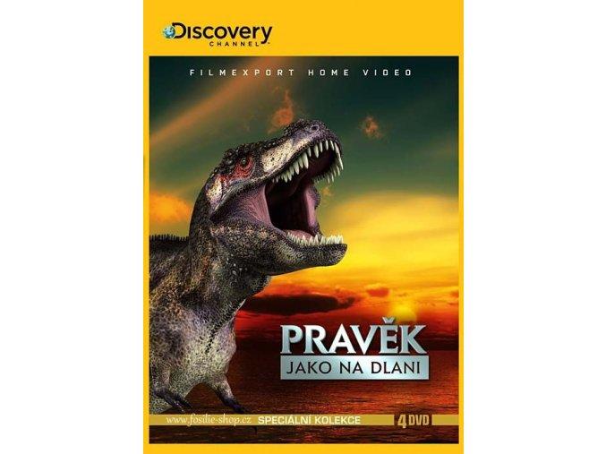 Pravěk jako na dlani - kolekce 4 DVD