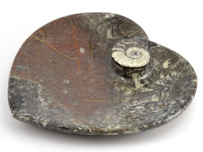 Miska zkameněliny srdce (19)