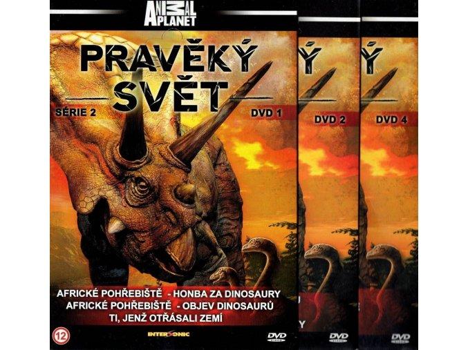 Pravěký svět, série 2- neúplná kolekce 3 DVD