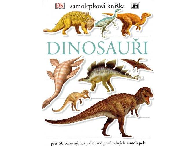 dinosauri samolepkova knizka