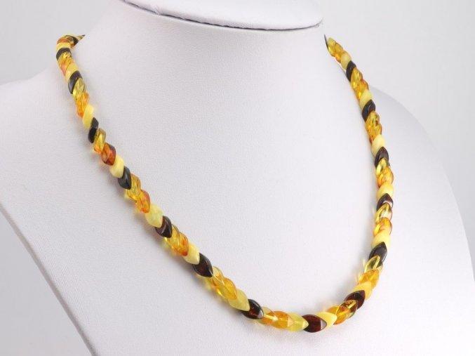 Překrývaný jantarový náhrdelník (5)