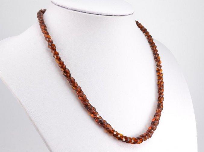 Překrývaný jantarový náhrdelník (7)