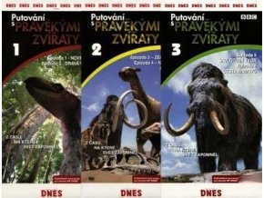 Putování s pravěkými zvířaty 3 DVD
