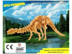 3D puzzle - dinosauři: Apatosaurus