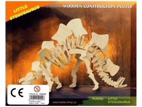3D puzzle - dinosauři: Stegosaurus