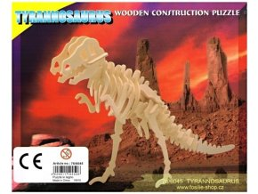 3D puzzle - dinosauři: Tyrannosaurus
