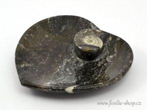 Miska zkameněliny srdce (13)