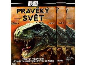 Pravěký svět, série 1- neúplná kolekce 3 DVD