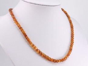 Překrývaný jantarový náhrdelník (1)
