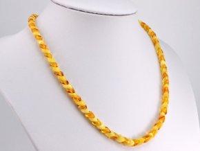 Překrývaný jantarový náhrdelník (2)