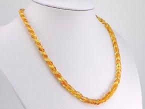 Překrývaný jantarový náhrdelník (3)