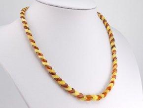 Překrývaný jantarový náhrdelník (4)