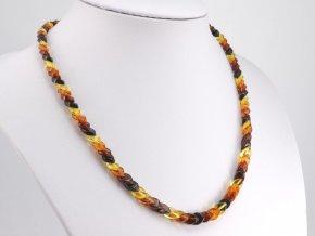 Překrývaný jantarový náhrdelník (6)