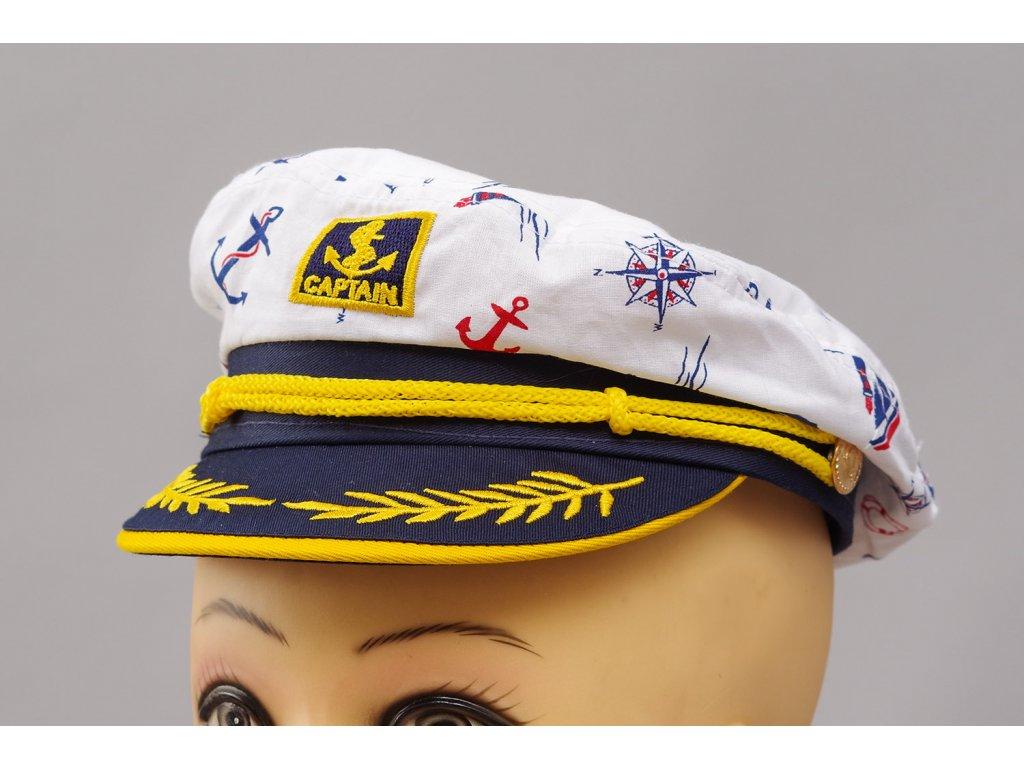 námořnická čepice Kapitán dětská