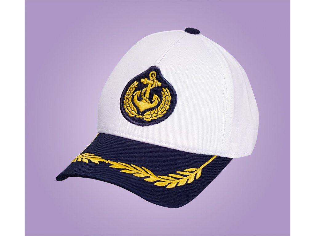 námořnická čepice bílá