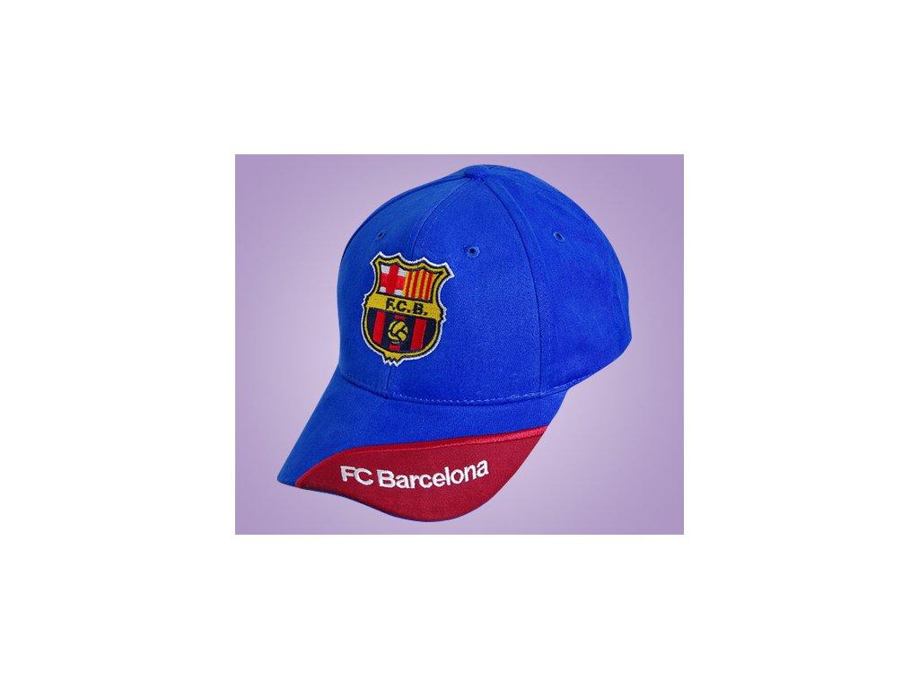kšiltovka Barcelona modrá