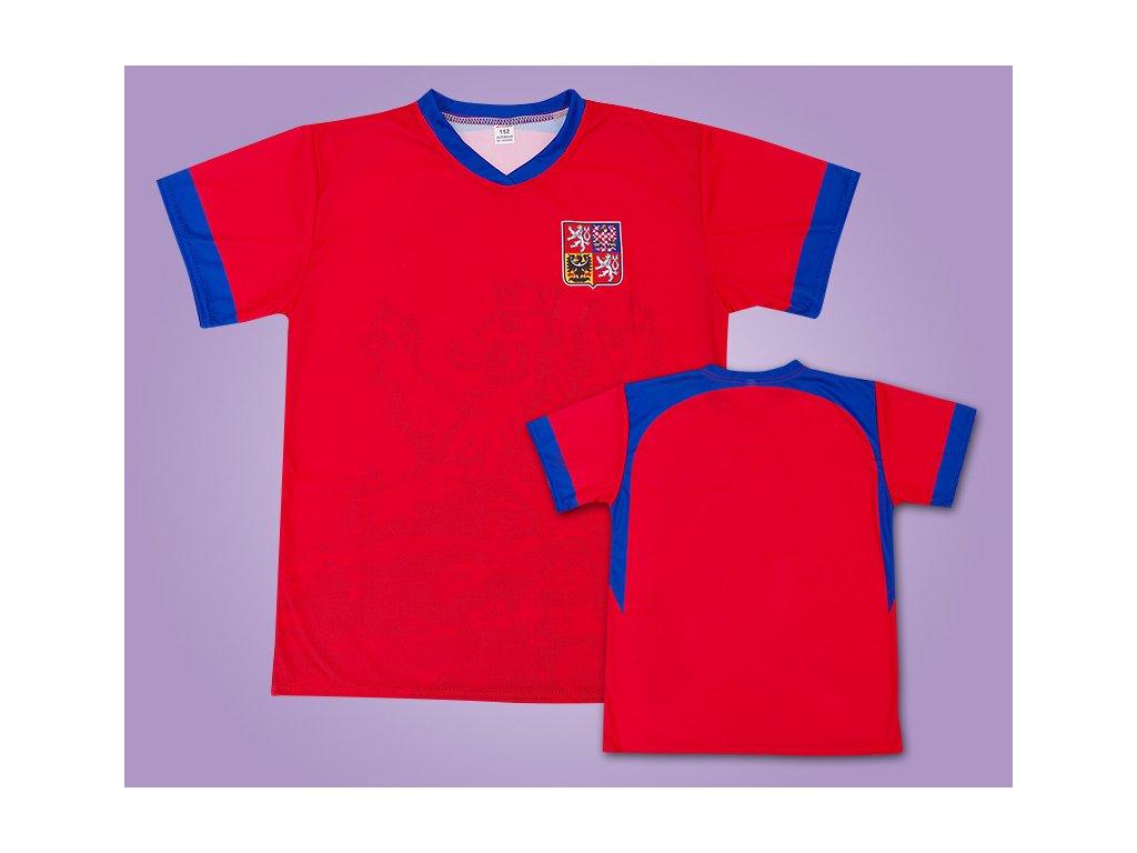 dres ČR červeno modrý