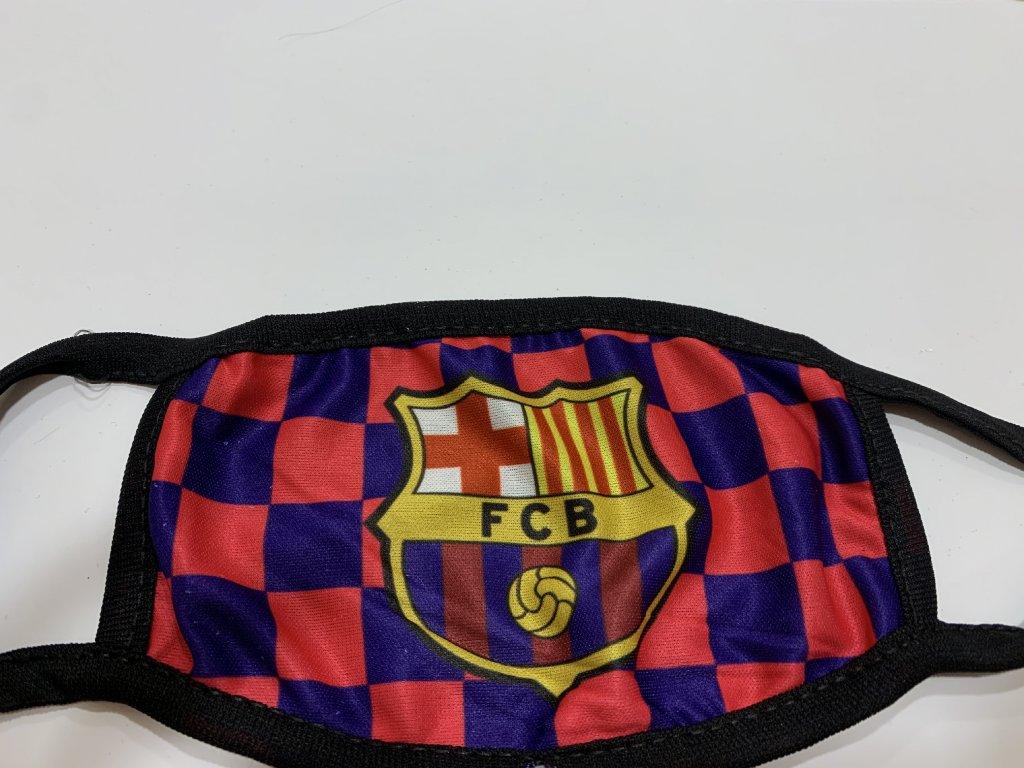 dětská rouška Barcelona
