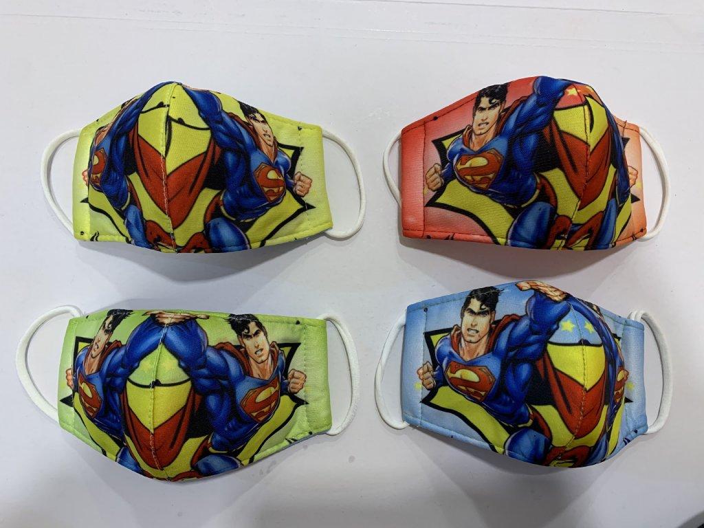 MINI dětská rouška Superman