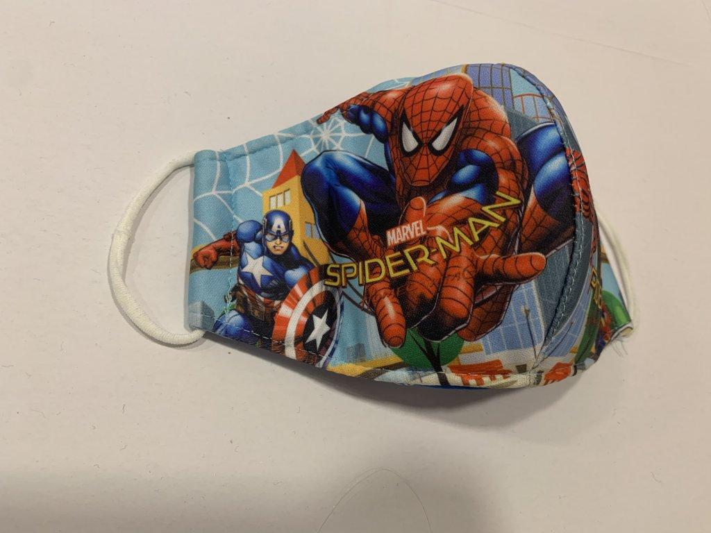 Spiderman rouška