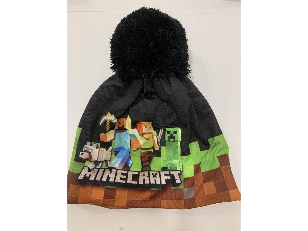 Dětská zimní čepice Minecraft