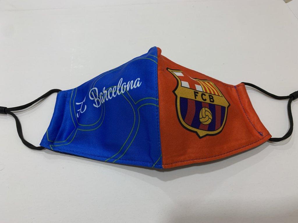 rouška Barcelona