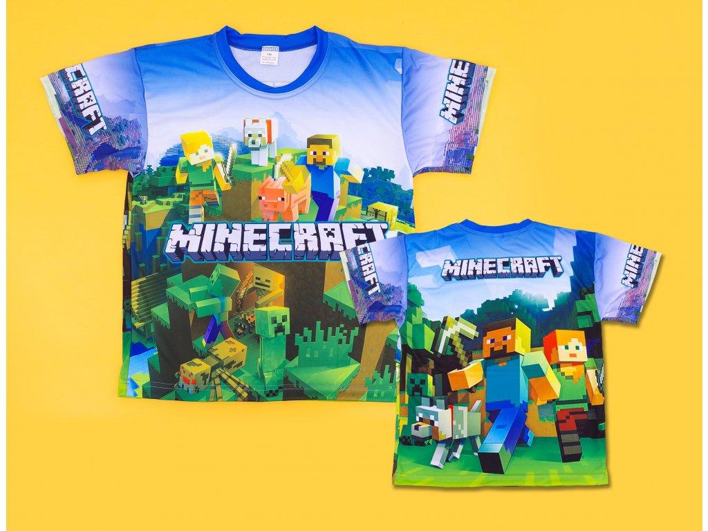 Minecraft triko Postavy