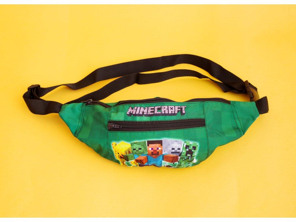 Ledvinka Minecraft přes rameno