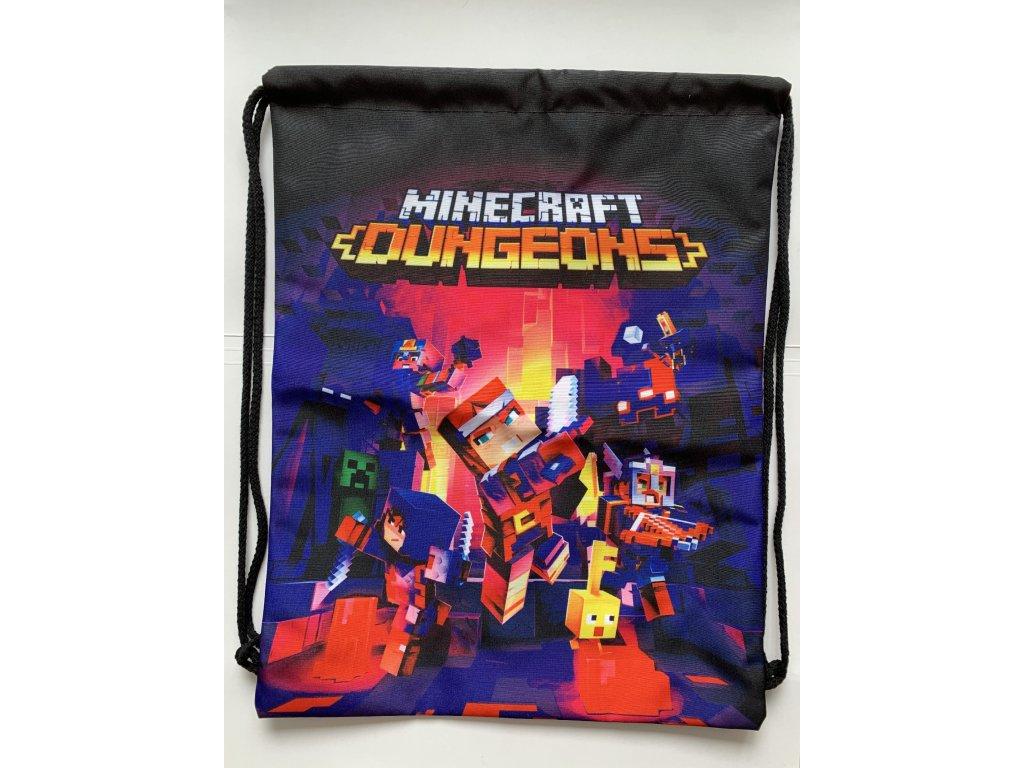 Minecraft Dungeons batoh, vak