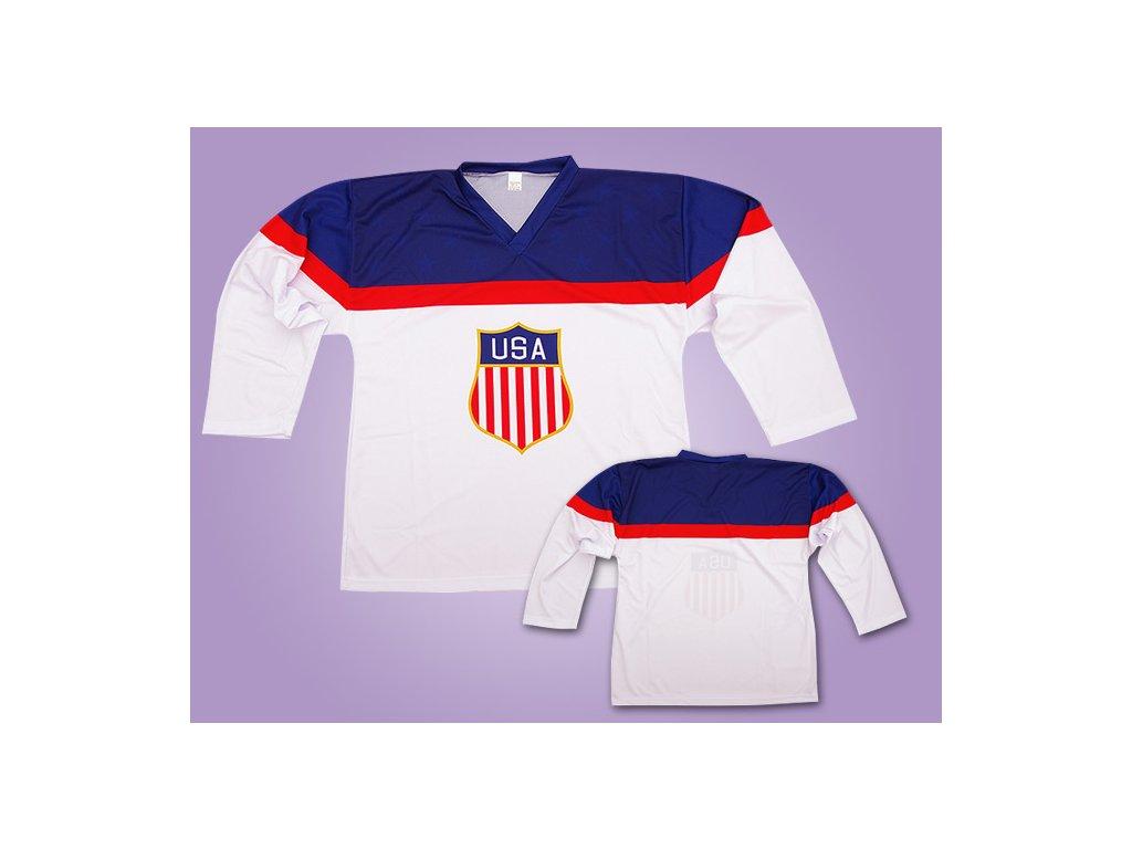 Hokejový dres USA olympiáda